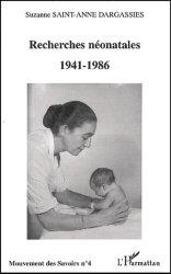 Dernières parutions dans Mouvement des Savoirs, Recherches néonatales (1941-1986)