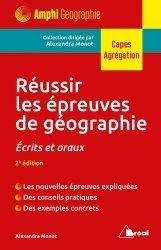 Dernières parutions sur Géographie de la France, Réussir les épreuves de géographie