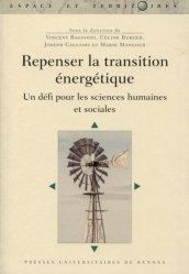 Dernières parutions sur Energies, Repenser la transition énergétique