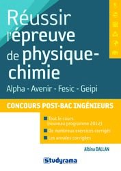 Dernières parutions sur Physique à l'université, Réussir l'épreuve de physique-chimie concours post-Bac ingénieur