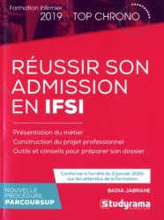 Dernières parutions dans Top chrono, Réussir son admission en IFSI