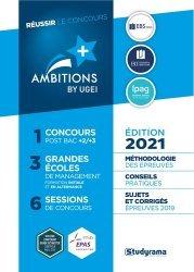 Dernières parutions sur Concours administratifs, Réussir le concours Ambitions+ by UGEI