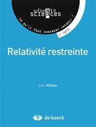 Dernières parutions sur Théorie de la relativité, Relativité restreinte