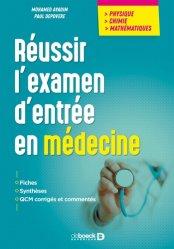 Souvent acheté avec UE 5 - Anatomie (Cours), le Réussir l'examen d'entrée en médecine