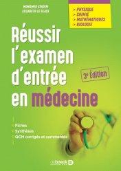 Dernières parutions sur ECN iECN DFASM DCEM, Réussir l'examen d'entrée en médecine