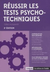 Dernières parutions sur Tests psychotechniques, Réussir les tests psychotechniques. 2e édition