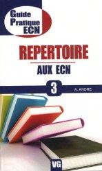 Dernières parutions dans Guide pratique ECN, Répertoire aux ECN