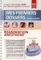 Dernières parutions dans Mes premiers dossiers, Réanimation - Anesthésie