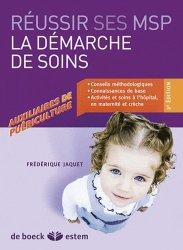 Souvent acheté avec Mémo-fiches AP . Modules 1 à 8, 3e édition, le Réussir ses MSP  - La démarche de soins