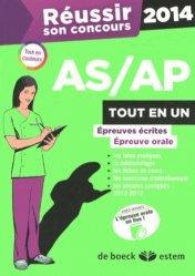 Nouvelle édition Réussir son concours AS/AP 2014 Tout en un