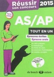 Nouvelle édition Réussir son concours AS/AP 2015 Tout en un