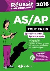 Souvent acheté avec Annales corrigées Concours AP 2016-2017, le Réusir son concours AS/AP 2016