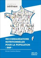 Dernières parutions sur Diététique - Nutrition, Recommandations nutritionnelles pour la population - RNP