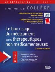 Dernières parutions dans Le référentiel Med-Line, Référentiel Collège Le bon usage du médicament et des thérapeutiques non médicamenteuses