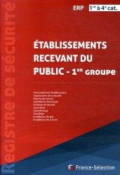 Dernières parutions dans Registre de sécurité, Registre de sécurité ERP 1re à 4e catégorie