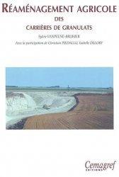 Souvent acheté avec Index des prix et des normes agricoles 2006-2007, le Réaménagement agricole des carrières de granulats