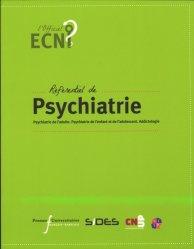 Souvent acheté avec Cancérologie, le Référentiel de psychiatrie