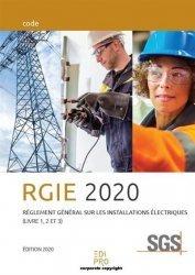 Dernières parutions sur Hygiène et sécurité, Règlement général sur les installations électriques. Edition 2016