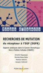 Dernières parutions sur Cancers pneumologiques, Recherches de mutation du récepteur à l'EGF (EGFR)