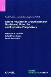 Dernières parutions dans Nestlé Nutrition Institute Workshop Series, Recent Advances in Growth Research: Nutritional, Molecular and Endocrine Perspectives