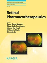 Dernières parutions dans Developments in Ophthalmology, Retinal Pharmacotherapeutics