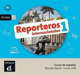 Dernières parutions sur Auto apprentissage (parascolaire), Reporteros internacionales 1 - clé usb