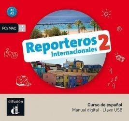 Dernières parutions sur Méthodes de langue (scolaire), Reporteros internacionales 2 - Le livre de l'élève