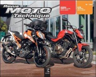 Dernières parutions sur Moto, Revue Moto Technique N° 193 : Ktm Duke 125 & Honda cb500fa&xa & cbr500ra