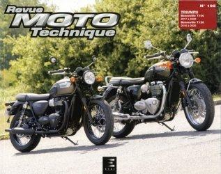Dernières parutions sur Moto, Revue Moto Technique N° 195 : Triumph bonneville  t100 & t120