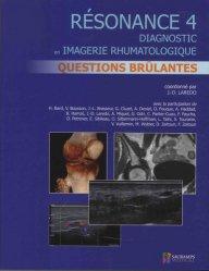 Dernières parutions sur Rhumatologie, Résonance 4 Diagnostic en imagerie rhumatologique