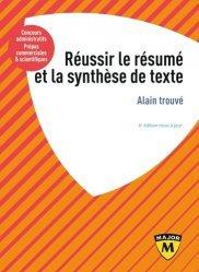 Dernières parutions dans Major, Réussir le résumé et la synthèse de texte