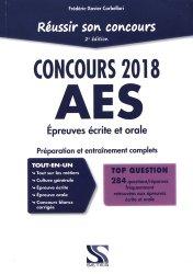 Dernières parutions sur Entrée en école de travail social, Réussir son concours 2018 AES