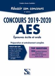 Dernières parutions sur Entrée en école de travail social, Réussir son concours AES 2019-2020