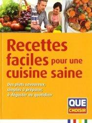 Dernières parutions sur Cuisine bio et diététique, Recettes faciles pour une cuisine saine
