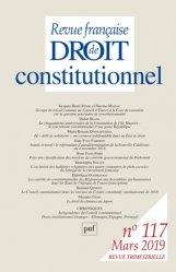 Dernières parutions sur Conseil constitutionnel, Rfdc. N° 117, 2019
