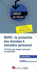 Dernières parutions dans Droit en poche, RGPD : la protection des données à caractère personnel
