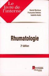 Nouvelle édition Rhumatologie