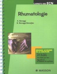Dernières parutions dans Carnets des ECN, Rhumatologie