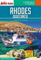 Dernières parutions sur Guides Grèce,Crète et Iles grecques, Rhodes. Dodécanèse, Edition 2020