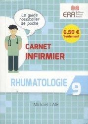 Dernières parutions dans carnet infirmier, Rhumatologie