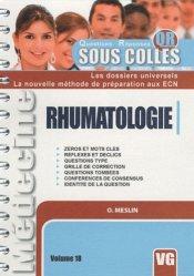 Souvent acheté avec Spécial conférences de consensus, le Rhumatologie