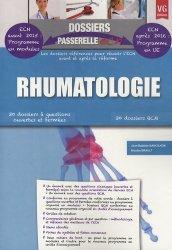 Souvent acheté avec Gériatrie, le Rhumatologie