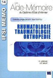 Souvent acheté avec Rhumatologie traumatologie orthopédie, le Rhumatologie, traumatologie, orthopédie