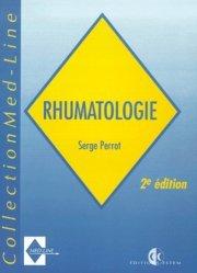 Dernières parutions dans Med-Line, Rhumatologie. 2ème édition