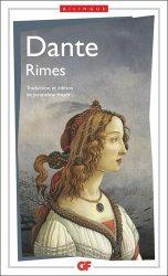 Dernières parutions dans GF, Rimes