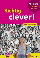 Dernières parutions dans Richtig Clever, Richtig Clever 2ème Année - Livre