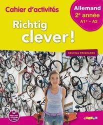 Dernières parutions dans Richtig Clever, Richtig Clever 2ème Année : Cahier