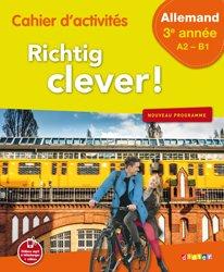 Dernières parutions dans Richtig Clever, Richtig Clever 3ème Année : Cahier