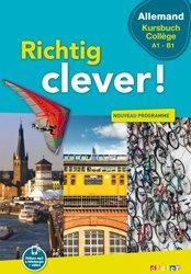 Dernières parutions dans Richtig Clever, Richtig Clever Kursbuch Collège : Livre
