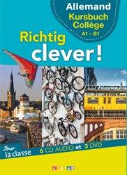 Dernières parutions dans Richtig Clever, Richtig Clever Cycle Collège : Coffret pour la Classe 6 CD Audio et 3 DVD
